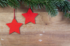 Xmas. Still life with christmas star royalty free stock photography