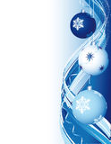 Xmas abstract background Royalty Free Stock Photos