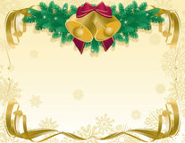 Xmas abstract background stock illustration