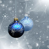 Xmas abstract with christmas decor Stock Photo
