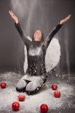 Xmas angel Stock Photo
