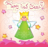 Xmas angel Royalty Free Stock Photo