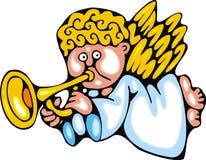 Xmas angel Stock Images