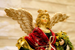 Xmas angel statue Stock Photography