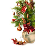 Xmas arrangement Stock Photography