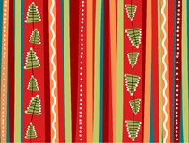 Xmas background. Funny xmas background in color red, orange and green Stock Photos