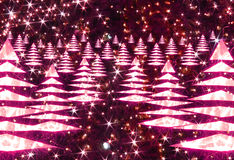 Xmas background. From the lights in the night royalty free stock images
