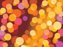 Xmas background. Christmas background with glowing lights, vector Royalty Free Stock Photo