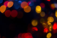 Xmas background street lights glam Stock Photography