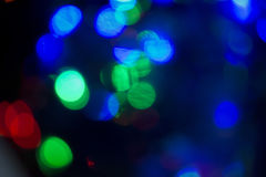 Xmas background street lights glam Royalty Free Stock Photo