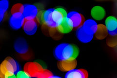 Xmas background street lights glam Royalty Free Stock Images