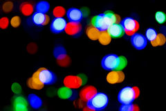 Xmas background street lights glam Stock Images