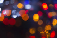 Xmas background street lights glam Royalty Free Stock Image