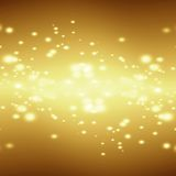 Xmas background. Vivid xmas background with some blurred stars in it Royalty Free Stock Photos