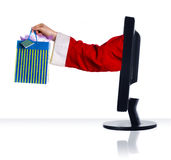 Xmas bag Royalty Free Stock Photography
