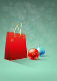 Xmas bag Stock Photography