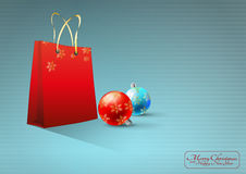 Xmas bag Royalty Free Stock Images