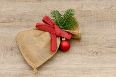 Xmas bag Stock Image