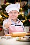 Xmas bakery Stock Image