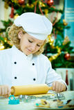 Xmas bakery Royalty Free Stock Photography