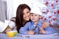Xmas bakery Stock Photo