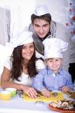 Xmas bakery Stock Images