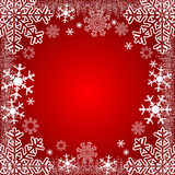 Xmas-bakgrund eller säsongsbetonad bakgrund för vinter Arkivfoton