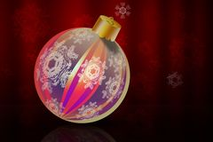 Xmas ball Royalty Free Stock Images
