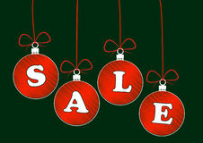 Xmas ball sale Royalty Free Stock Photos