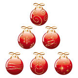 Xmas balls Royalty Free Stock Photos