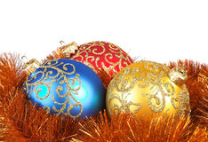 Xmas balls royalty free stock image