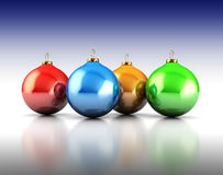 Xmas balls Stock Photography