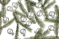 Xmas-Balls. Xmas Decoration Royalty Free Stock Photo