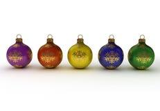Xmas balls Stock Image