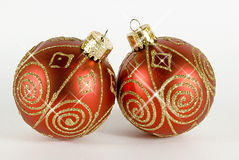 Xmas Balls Royalty Free Stock Photography
