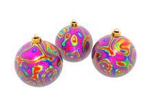 Xmas balls Royalty Free Stock Photo