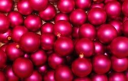 Xmas balls background Stock Images