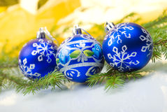 Xmas balls .christmas Stock Image