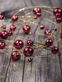 Xmas balls christmas decoration Royalty Free Stock Image