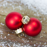 Xmas balls Royalty Free Stock Images