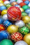 Xmas balls Stock Photos