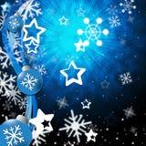Xmas Balls Indicates Christmas Ornament And Celebration Stock Images