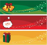 Xmas banner Stock Photography