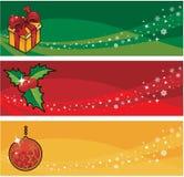 Xmas banner Royalty Free Stock Image