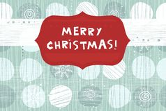 Xmas banner in vector Royalty Free Stock Images