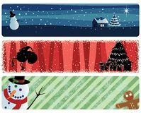 Xmas_banners Stock Images