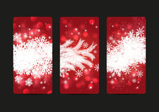 Xmas banners Royalty Free Stock Photos
