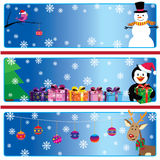 Xmas banners Stock Photo