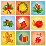 Xmas banners Royalty Free Stock Images