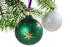 Xmas Baubles Stock Image